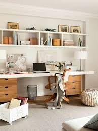 wall storage ideas for office. 29 Creative Home Office Wall Storage Ideas Shelterness Desk With Shelves For F