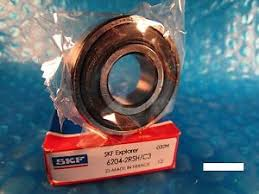 skf bearings c3. image is loading skf-6204-2rsh-c3-single-row-ball-bearing- skf bearings c3