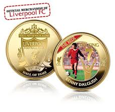 kenny dalglish liverpool fc hall of fame coin