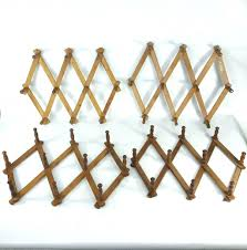 mug rack elegant expanding coat rack charming racks images gallery accordion 4 wood