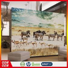 Wilde Dieren Zebra Muur Foto Deur Muurschildering Woonkamer Behang