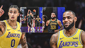 Latest on los angeles lakers small forward kyle kuzma including news, stats, videos, highlights and more on espn. Lakers Video Lebron James Hilarious Reaction To Kyle Kuzma S Epic Fail
