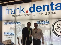 Frank Dental - Mr. Armin Frank and customer | Facebook
