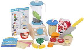 melissa doug smoothie maker blender set