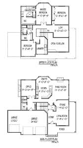 elegant two story home plans with open floor plan new for best 2 story house plans