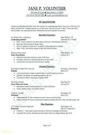 Example Modern Resume Template