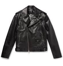alexander mcqueenconvertible leather biker jacket