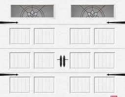 cottage garage doorsDecorative Hardware  COTTAGE  Garage Door Accessories  Garaga