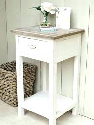 rustic white nightstand. Rustic White Nightstand Distressed Nightstands Wood Off E