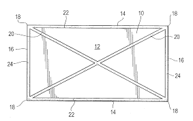 patent us20030224140 cellulosic fiberboard panel having patent drawing