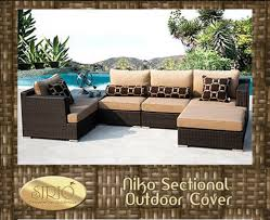 Foremost Lako 6 Piece Deep Seating Group With Cushion  Outdoor Niko Outdoor Furniture