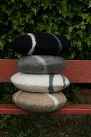 ... how to make felted wool stone floor cushions img felt stones rugs  austria lil fish studios ...
