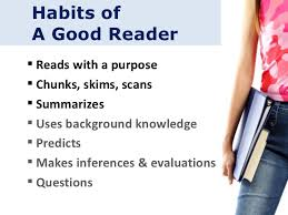 habits of a good reader thane billabongschool  habits of a good reader