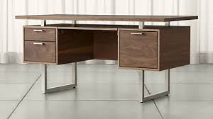 crate and barrel home office. Beautiful Home Catchy Home Office Desk Corner Computer And Desks Crate  Barrel With D