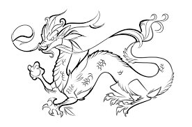 Quality Dragon Images To Color Printable Coloring Pages For Kids 14655