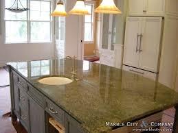 green quartz countertops elegant kitchen intended for 9