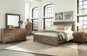 reclaimed wood bedroom set. Real Wood Bedroom Sets Reclaimed Set Hardwood Rustic Ashley Furniture