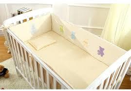 decoration teddy bear baby crib bedding sets set cotton cot newborn cartoon detachable