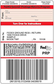 Uline stocks a wide selection of laser labels, printer labels and label paper. Package Return Services Return Shipping Labels Fedex