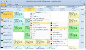 work scheduler excel employee scheduling software snap schedule product tour