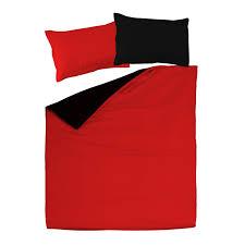 black red 100 cotton reversible bed linen set duvet cover pillow cases soulbedroom home textile quality bedding duvet covers pillow cases
