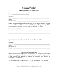 30 day notice to landlord form apartment blank form word vacate free 30 day notice to vacate