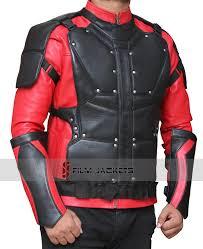deadshot leather jacket