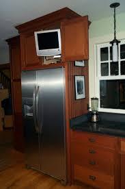 Kitchen Cabinets Refrigerator Kitchen Refrigerator Cabinets Monsterlune