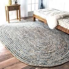 small jute rug handmade braided natural fiber jute and denim oval rug x small used area small jute rug