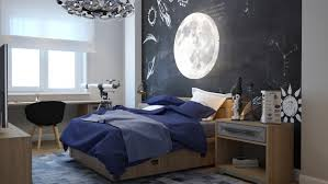 Space Themed Bedroom Bedroom Brown Platform Bed Awesome Kids Space Themed Wall Decor
