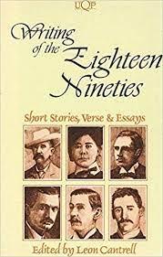 Amazon | Writing of the 1890's: Short Stories, Verse & Essays (Portable  Australian Authors) | Cantrell, Leon | British