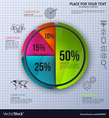 Pie Chart Business Statistics With Icons