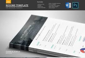 Free Modern Resume Template Downloads 40 Free Resume Templates 2018 Professional 100 Free
