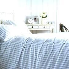 marvelous blue ticking duvet cover duvet cover blue ticking duvet cover king