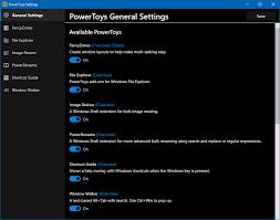 powertoys the windows 10 super powers