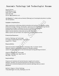 Lab Technician Resume Template Premium Samples Example Medical