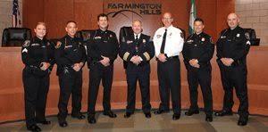 Farmington Hills, MI - Farmington Hills Police Department Promotions