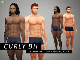 Body Hair Style my sims 4 blog lumialover sims dreads for males & females 1669 by wearticles.com