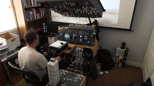 fsx p3d 737 homemade flight sim pit v2 arrival part 2 flightsim planet