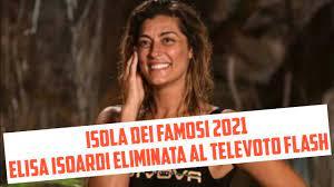 Isola dei Famosi 2021 - Elisa Isoardi eliminata al televoto flash, ma... -  YouTube