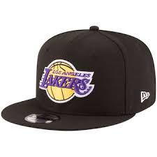 Men\u0027s Los Angeles Lakers New Era Black Official Team Color 9FIFTY Adjustable Snapback Hat Hats, Snapbacks, Fitted Beanies | store.nba.com