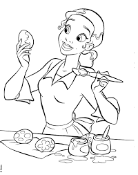 Printable princess tiana coloring pages for kids. Disney Princesses Tiana Colouring Pages Coloring Home