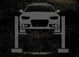 Car Maintenance Record Car Maintenance Record Book Log Book Gas Mileage Maintenance Log