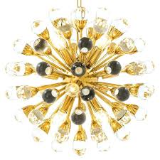 small sputnik chandelier starburst led black glass bulb white sphere round lawrence small sputnik chandelier