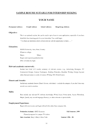 How To Write A Resume For College How To Write A Resume College Student An Objective For Example 7