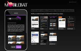 Mobile Website Templates Inspiration Mobilebat WordPress Mobile Website Templates LM Web Design