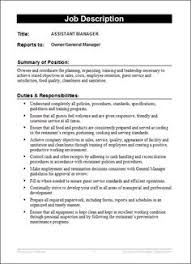 Job Description Template - Google Search | Business Information ...