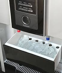 counter top hot cold water dispenser with ice maker machine countertop ice cube great for home office rv boat