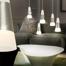 Länglich Silber Beleuchtung Küchen Esszimmer Lampe Hänge Led