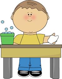 clean student desk clipart.  Clean Wash Table Clip Art On Clean Student Desk Clipart N
